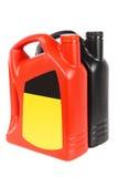 瓶机器润滑油二 免版税库存图片