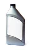 瓶机油塑料 免版税库存图片