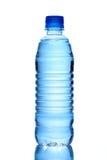瓶查出的水白色 库存照片
