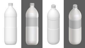 瓶模板 3d回报 免版税库存照片
