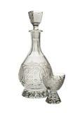 瓶水晶玻璃 免版税图库摄影