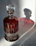 瓶水晶 免版税库存图片