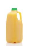 瓶汁液桔子 免版税库存图片