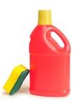 瓶洗涤剂 免版税库存照片