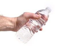 瓶现有量提供的水 免版税图库摄影