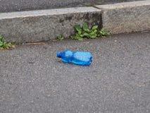 瓶空的塑料 免版税图库摄影