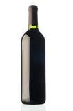 瓶红葡萄酒 免版税库存照片