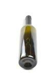 瓶细致的意大利白葡萄酒 免版税图库摄影