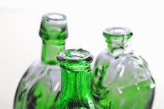 瓶结束绿色  免版税库存图片