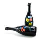 瓶艺术 免版税库存图片