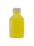 瓶菠萝汁 图库摄影