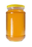 瓶蜂蜜 免版税图库摄影