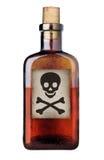 瓶被塑造的老毒物 库存图片