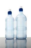 瓶装水白色 库存照片