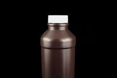 瓶褐色 免版税库存照片
