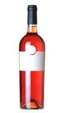 瓶酒 免版税库存照片