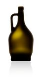 瓶酒 免版税库存图片