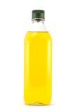 瓶额外的油橄榄色贞女 免版税库存图片