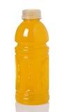 瓶饮料桔子体育运动 库存图片