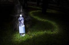 瓶水 免版税图库摄影