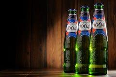 瓶Kronenbourg 1664啤酒 免版税库存图片
