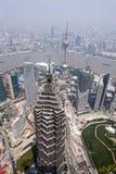 瓷上海地平线 免版税库存照片