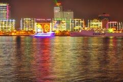 瓷上海地平线 免版税图库摄影