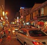 瓷吉隆坡城镇 库存照片