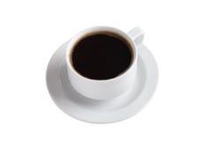 瓷咖啡杯白色 库存照片