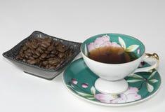 瓷咖啡杯 库存图片