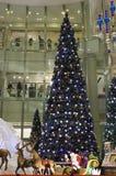 瓷圣诞节装饰 免版税库存照片