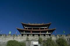 瓷城市对云南的dali入口 库存图片