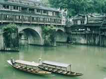 瓷城市居住的菲尼斯 图库摄影