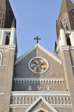 瓷基督教会 库存照片