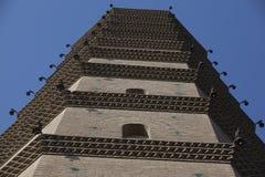 瓷塔 免版税库存照片