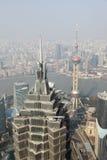 瓷大城市上海 免版税库存照片