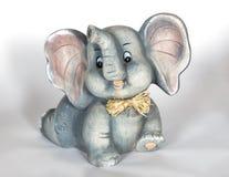 瓷大象 库存图片