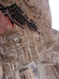 瓷寺庙xuankongshi 库存图片