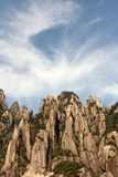 瓷小山江西sanqing山的省 库存照片