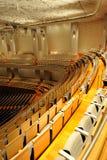 瓷平台大钢琴大厅国家戏院 免版税库存图片