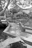 瓷庭院上海yu元 免版税库存照片