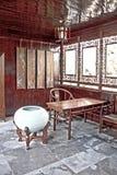 瓷庭院苏州 免版税图库摄影