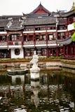 瓷庭院yuyuan的上海 库存照片