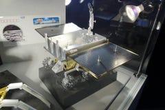 瓷张e iii月球探测器Yutu月球流浪者模型  免版税库存图片