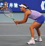 瓷彭球员专业shuai网球 库存图片