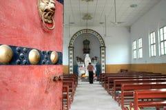 瓷教会 免版税库存图片