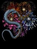 瓷新年度 免版税图库摄影