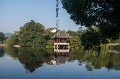 瓷杭州xihu 免版税图库摄影