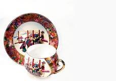 瓷杯子瓷茶 免版税图库摄影