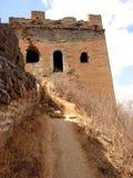 瓷极大的塔墙壁 图库摄影